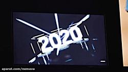 نمایشگر 8K بدون حاشیه و چرخشی سامسونگ معرفی شده CES 2020