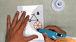 ساخت دوچرخه با قلم سه بعدی