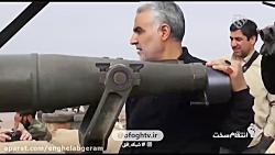 تصاویر دیده نشده از سپهبد شهید حاج قاسم سلیمانی در جبهه های نبرد با داعش