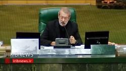 رییس مجلس: ملت بزرگ ایران با حضور خود سیلی محکمی به مسئولان جنایتکار آمریکا زدند