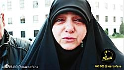 بغض مردم مشهد بعد از شنیدن شهادت سردار حاج قاسم سلیمانی