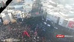 علت و محل حادثه در مراسم تشییع سردار سلیمانی در کرمان با 56 جانباخته