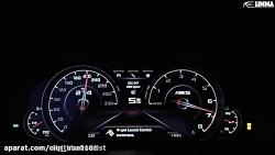 ویدیو BMW m5 دستی کشیدن با ماشین