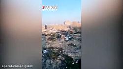 محل سقوط هواپیمای اوکراینی در شهریار