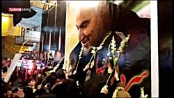 برگزاری مراسم شام غریبان «سردار دل ها» در گیلان