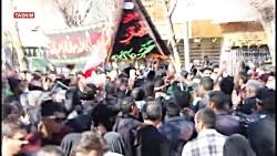 عزاداری تبریزی ها در آیین تشییع سردار دلها در کرمان