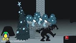 انیمیشن طنز فوتبالی درباری کریسمس