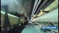 تصاویر آماده سازی و پرتاب موشک ها به پایگاه نظامیان تروریست آمریکایی