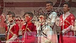 گروه سرود دانش آموزان پسر استان آذربايجان شرقي (جشنواره 33) نيشابور