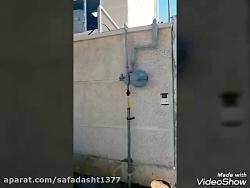 رگولاتور وکنتور های انشعاب گاز آموزشگاه فاز ۴ مسکن مهر صفادشت نصب شد 1398