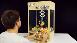 ساخت ماشین شانسی شهربازی با مقوا و سرنگ