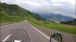موتور سواری هیجان انگیزیک توریست در افغانستان!