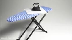 ساخت میز اتو مینیاتوری
