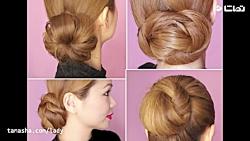 آموزش چند مدل موی ساده