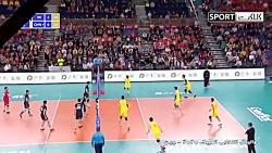 خلاصه والیبال چین 0-3 ایران