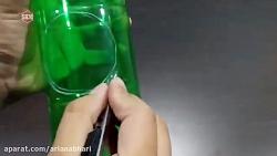 کاردستی پنکه کوچک با مواد بازیافتی
