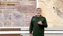 واکنش سردار حاجی زاده به تخلیه عین الاسد قبل از حمله موشکی سپاه