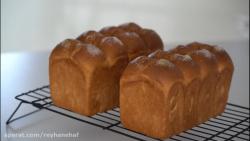 نان حجیم کره ای Tangzhong Buttertop Bread_ Tangzhong Hotel Bread
