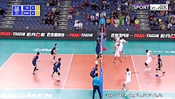خلاصه والیبال ایران 3-2 کره جنوبی