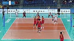مسابقات انتخابی المپیک 2020 ( چین ) نیمه نهایی   چین 3 - 1 قطر