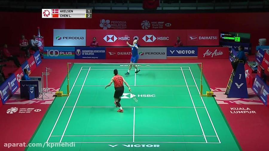 مسابقه مقدماتی بدمینتون سینگل مردان - PERODUA Malaysia Masters 2020