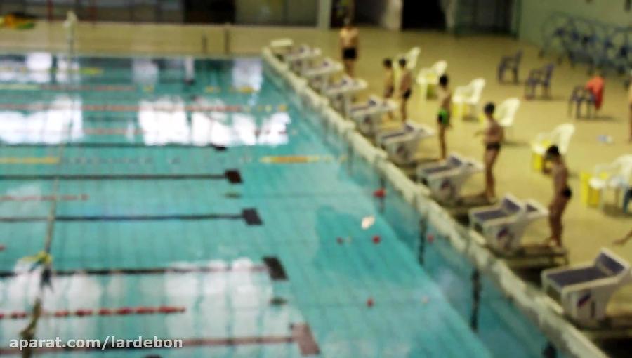 جشنواره شنای استخر آزاد(شنای قورباغه)
