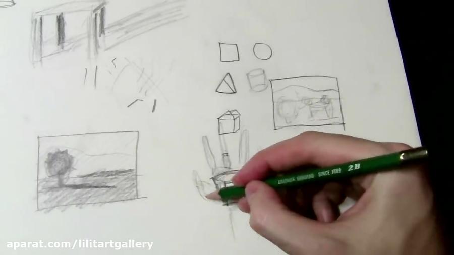 آموزش طراحی اشیاء – درس ۲