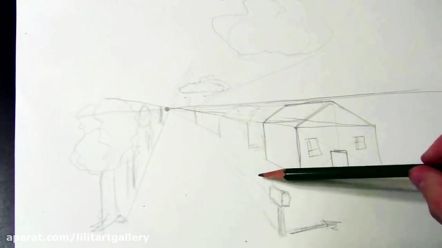 آموزش طراحی پرسپکتیو – درس ۴