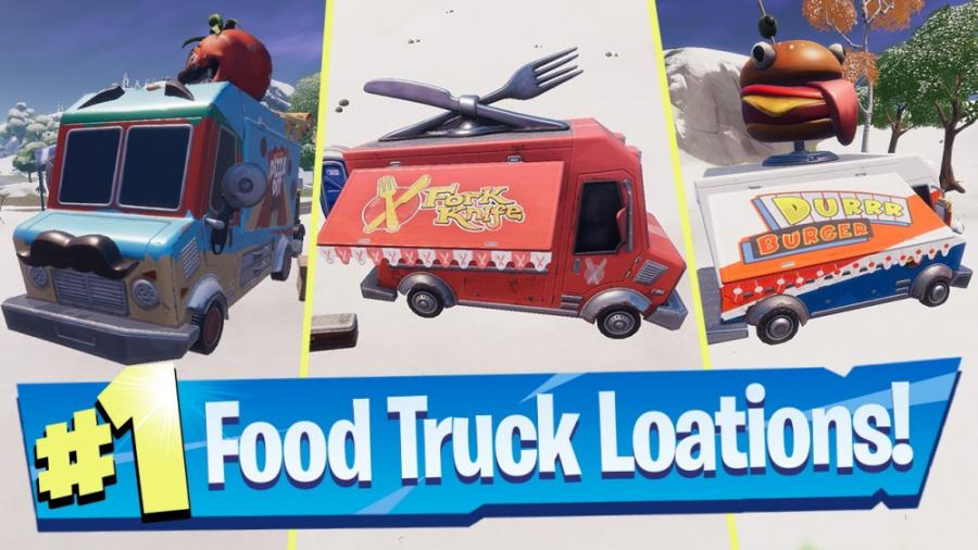 Fortnite - Food Trucks quest - کوئست فود تراک فورتنایت چپتر 2 فصل 1
