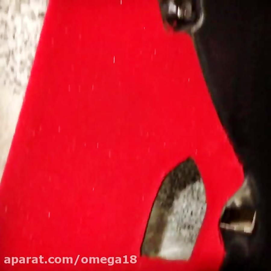 پودر مخمل قرمز 6065 .مخمل پاش صنعتی و نیمه صنعتی 09363635493