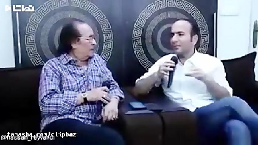 مصاحبه حسن ریوندی با استاد ایرج مهدیان