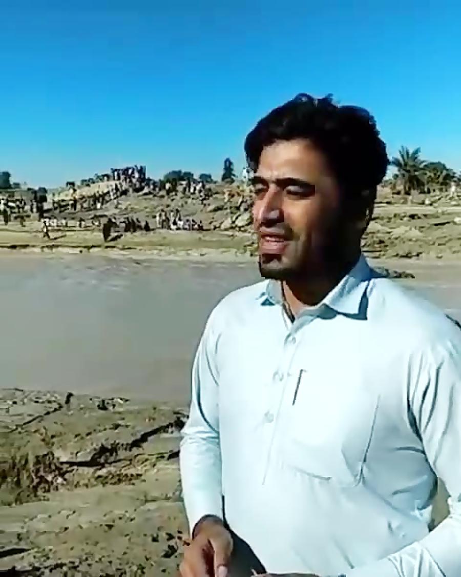 کمک رسانی مردمان بلوچ به هموطنان بلوچ هیچ کمک دولتی هم انجام نشد وهیچ کمکی از
