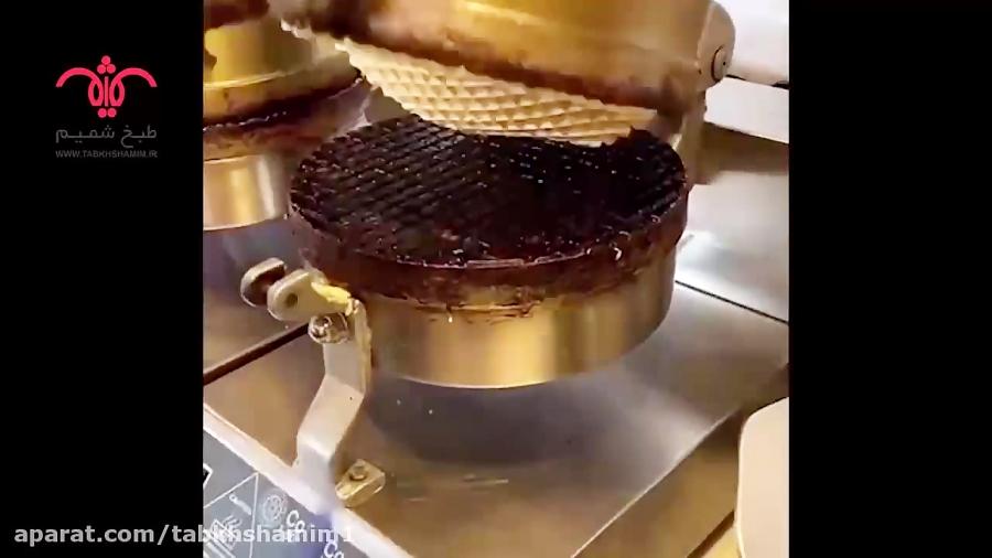 آموزش توليد نان بستنی