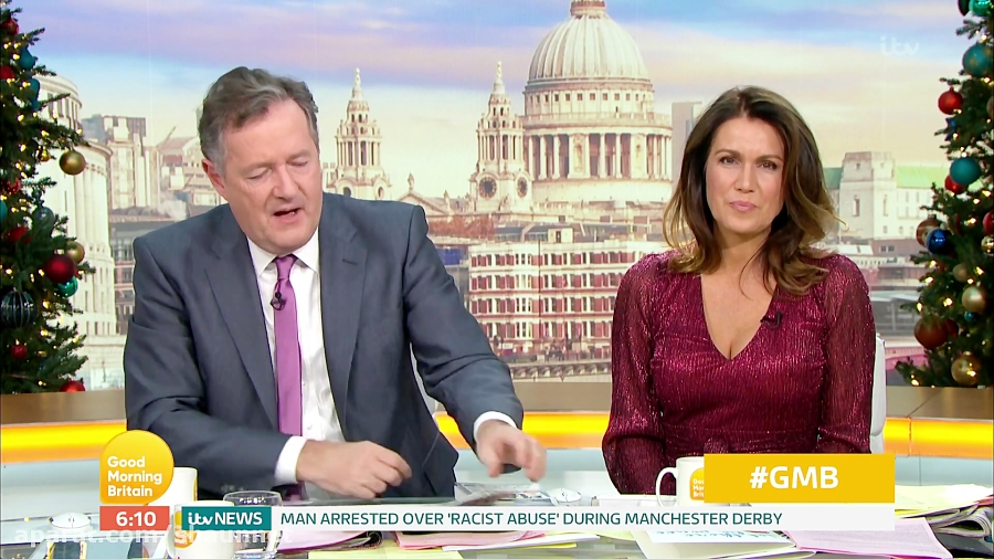 Susanna Reid - Cleavage Good Morning Britain 09Dec2019