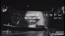 آهنگ غمگین let me get me امیرسنس ۲۰۲۰