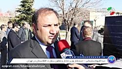سفیران سوئد، اوکراین، افغانستان و ایتالیا در محل سقوط هواپیمای اوکراینی