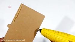 کاردستی با کارتن و مقوا با ایده های خلاقانه شماره 34