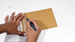 کاردستی با کارتن و مقوا با ایده های خلاقانه شماره 16