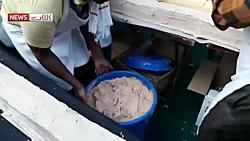 پخت طولانی ترین کیک جهان در هند