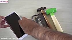 تست مقاومت صفحه نمایش گوشی ردمی نوت 7 پرو در برابر ضربه