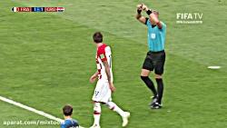 خلاصه بازی کرواسی - فرا...