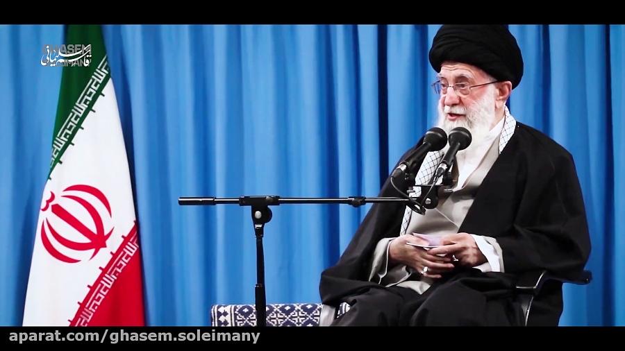 ویژگیهای سردار سلیمانی در بیان رهبر انقلاب به همراه تصاویر منتشرنشده