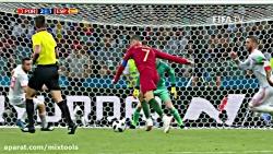 خلاصه بازی اسپانیا و پر...