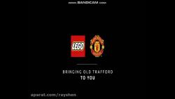 لگو:استادیوم(Old Trafford Manchester United)
