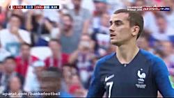 خلاصه بازی آرژانتین و فرانسه جام جهانی ۲۰۱۸