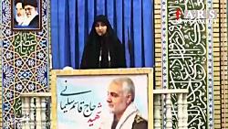 زینب سلیمانی: با خون پدر شهیدم در میدان نبرد حریف می طلبم