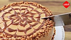 طرز تهیه کیک کاراملی