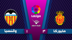 خلاصه بازی مایورکا 4 - والنسیا 1 - هفته 20 | لالیگا اسپانیا