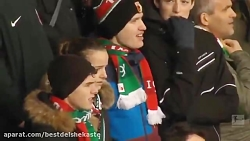 خلاصه بازی دورتموند 5 - آگزبورگ 3 (هفته هجدهم بوندسلیگا آلمان)
