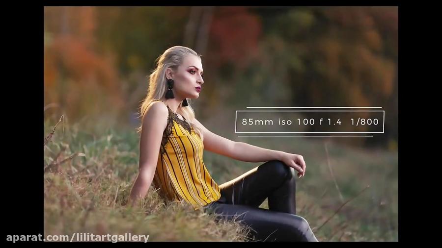 عکاسی فشن مدلینگ حرفه ای در فضاهای طبیعی روستایی